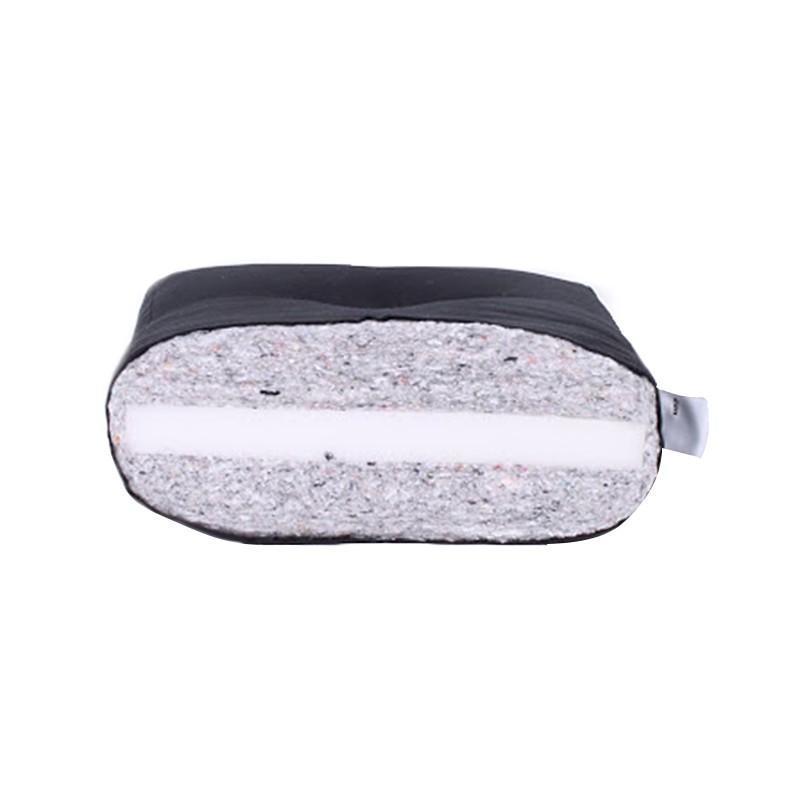 Futonmatratze Comfort Futon – Schaum/Wolle – Schwarz – Liegefläche: 200 x 180 cm, Karup günstig online kaufen