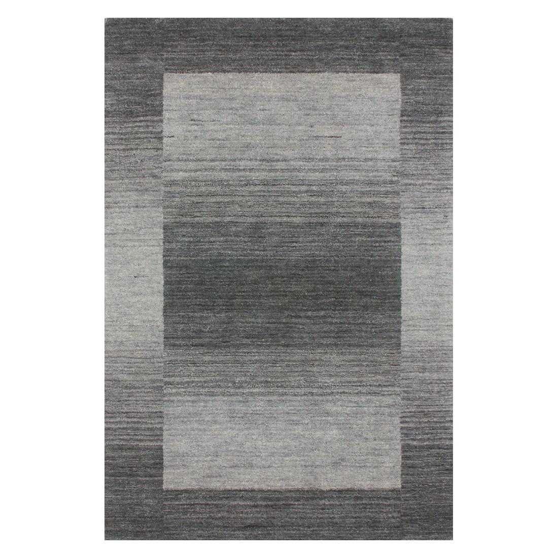 Teppich Gabbeh – Silber – 200 x 290 cm, Kayoom günstig online kaufen
