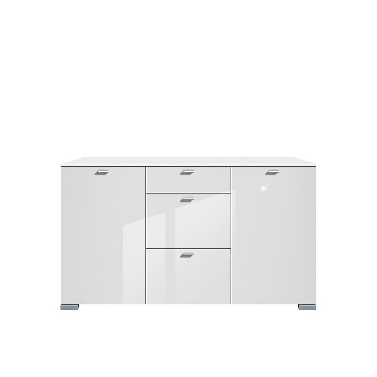 barock kommode 2t rig wei hochglanz antik stil shabbychic pictures to pin on pinterest. Black Bedroom Furniture Sets. Home Design Ideas