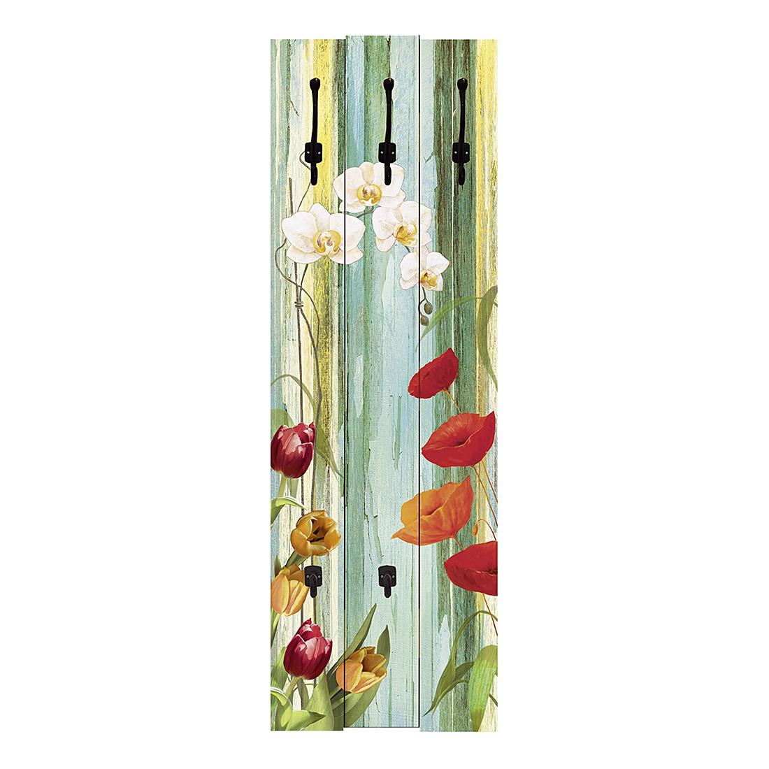 Garderobe Colorful Blossoms – Floral, Artland kaufen