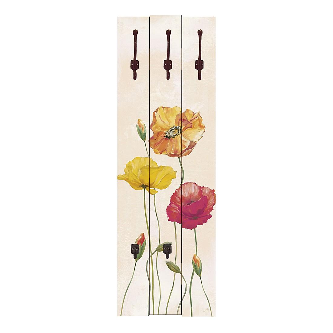 Garderobe Colorful Poppies – Floral, Artland günstig