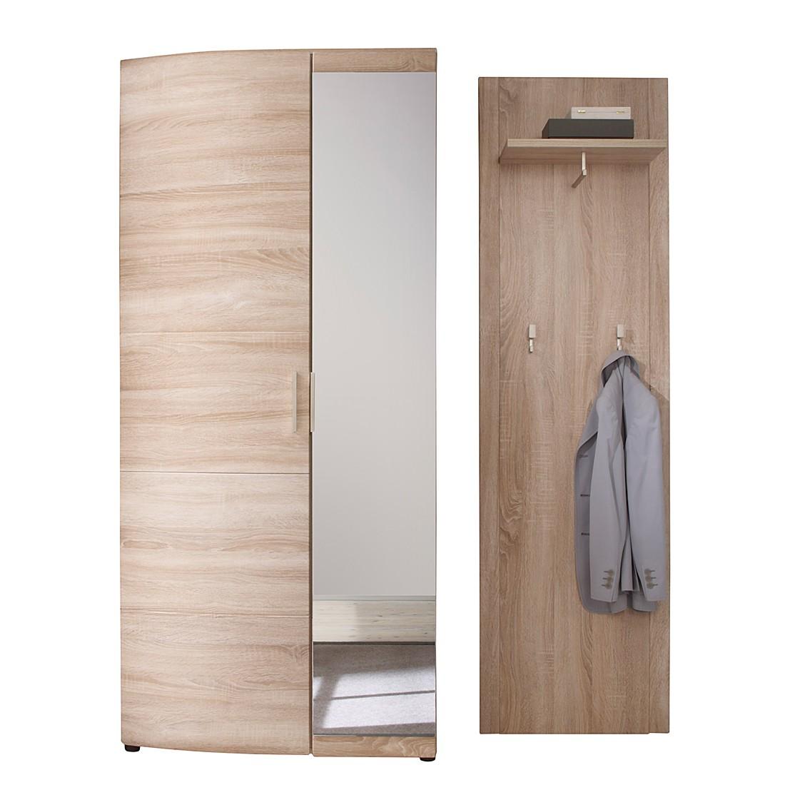 garderobe savona sl 2 teilig eiche dekor. Black Bedroom Furniture Sets. Home Design Ideas