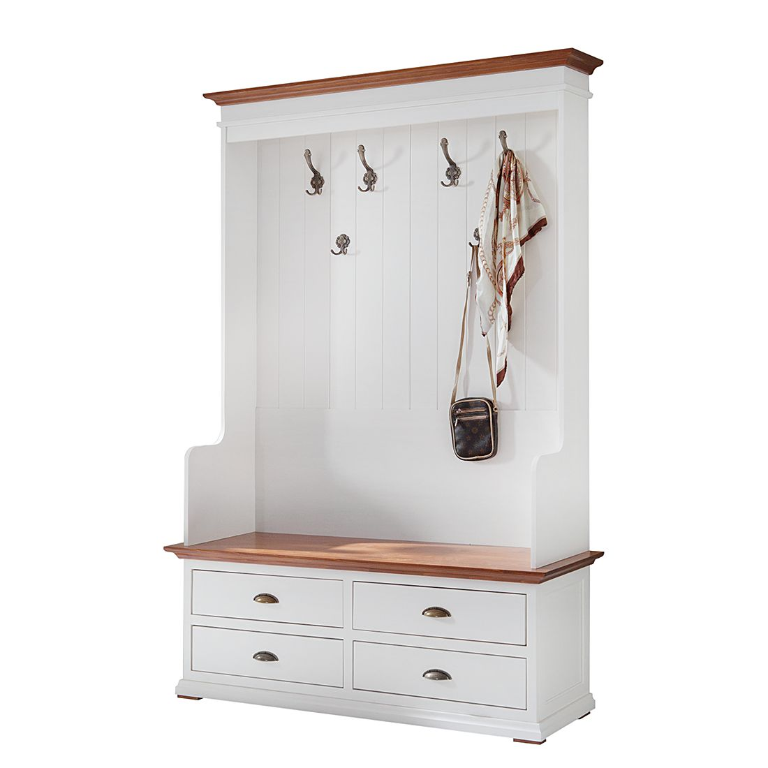 garderobe vivienne 2 teilig landhaus classic g nstig online kaufen. Black Bedroom Furniture Sets. Home Design Ideas