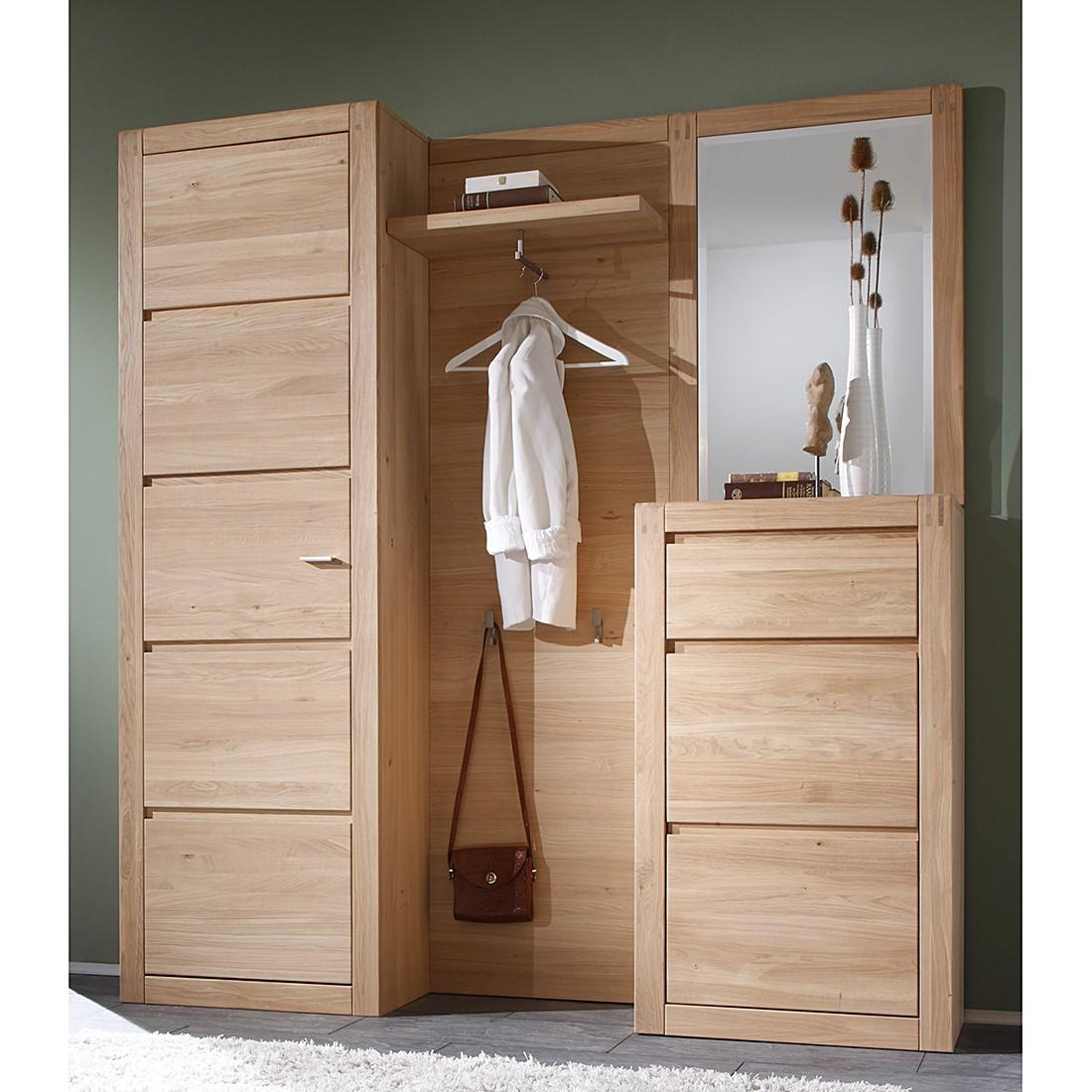 garderobe set eiche g nstig kaufen. Black Bedroom Furniture Sets. Home Design Ideas