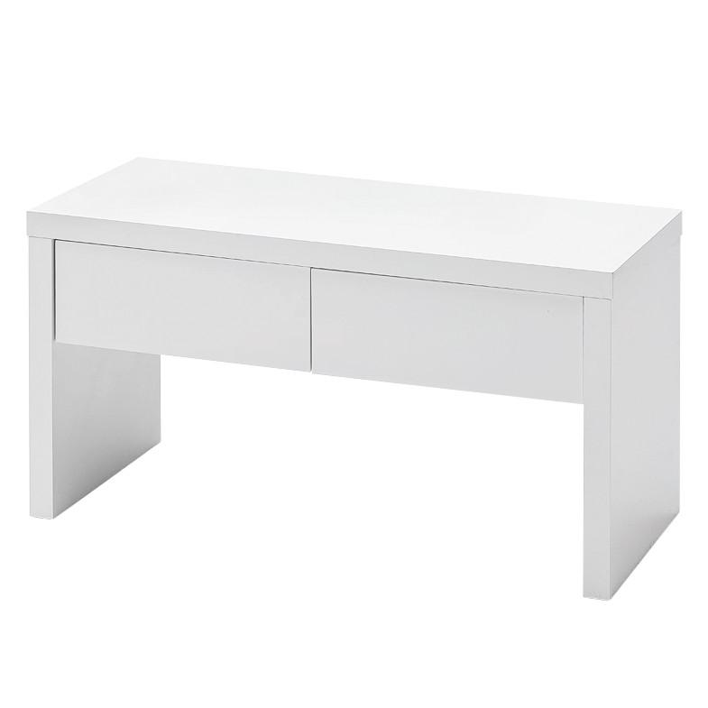 garderobenbank emblaze hochglanz wei ebay. Black Bedroom Furniture Sets. Home Design Ideas