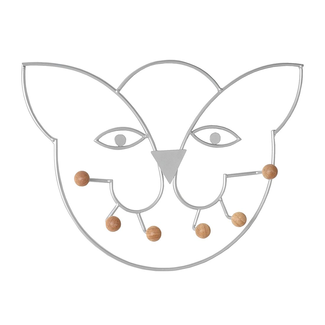 Garderobenleiste Kitty – Alufarben, Home Design jetzt kaufen
