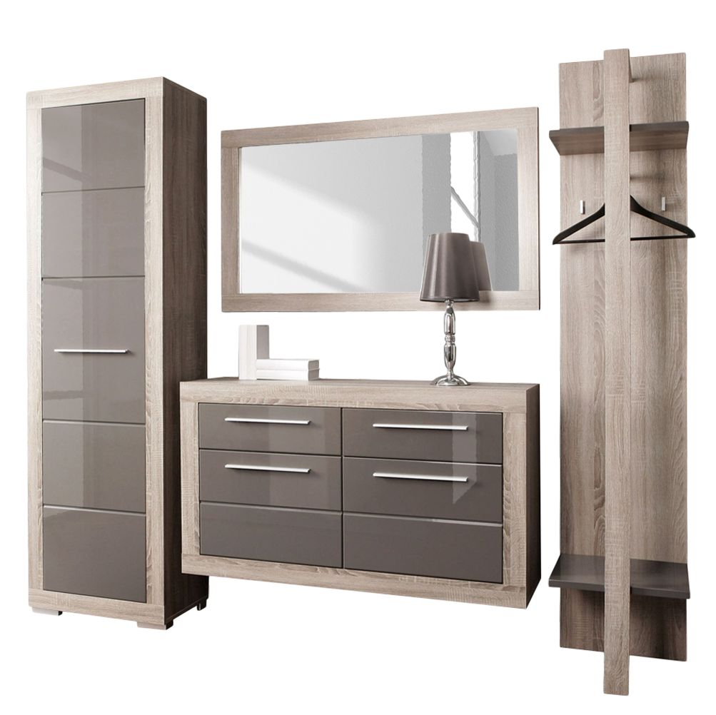 kommode hochglanz grau g nstig kaufen. Black Bedroom Furniture Sets. Home Design Ideas