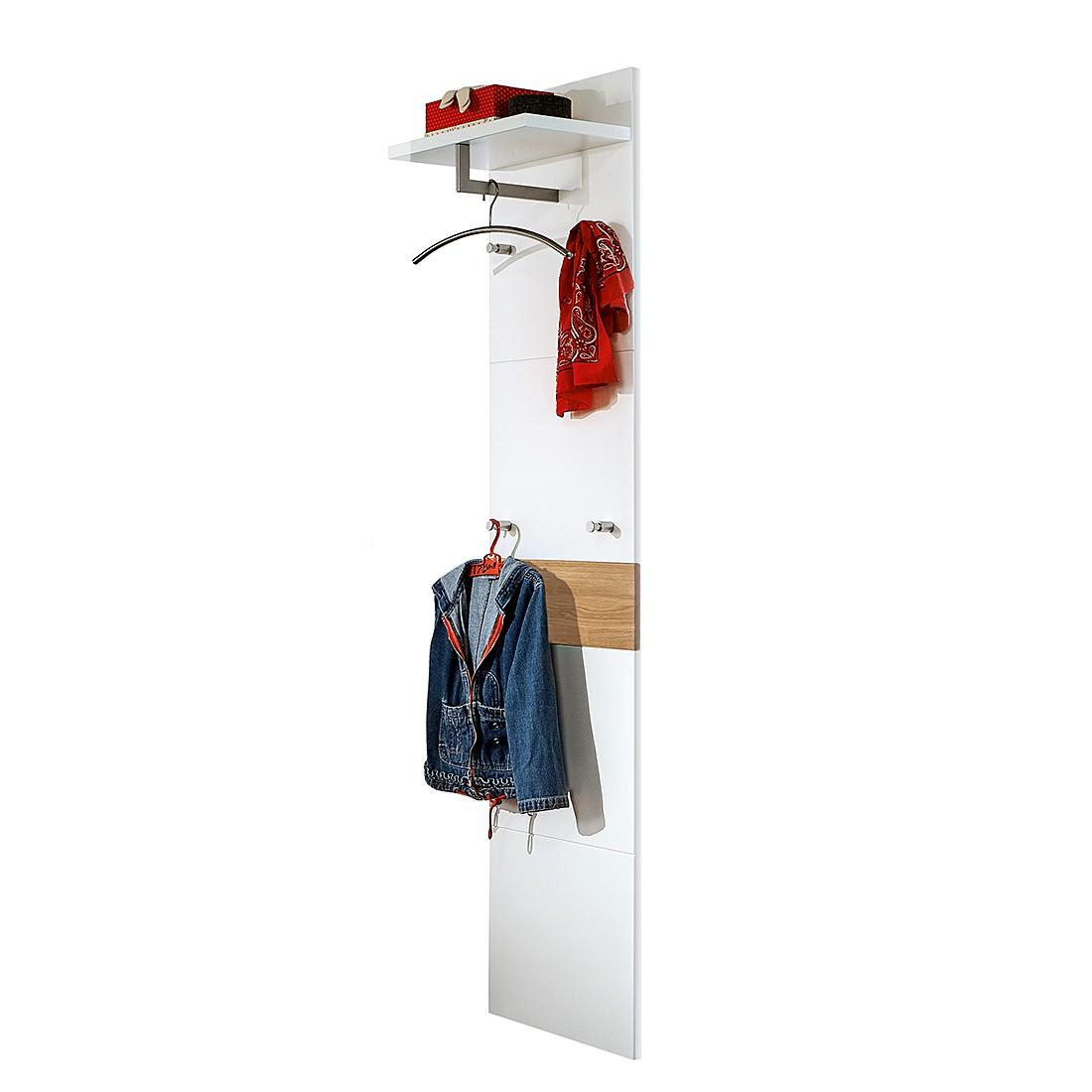 Panca Guardaroba Bolton II Bianco/Legno Massello Di Quercia Pannello  #B81E13 1100 1100 Ikea Panca Con Cassetto