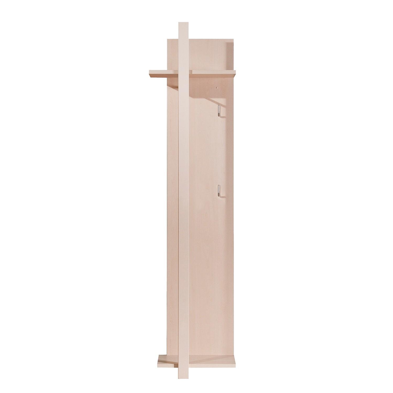 Garderobe weiss hochglanz roomscape preisvergleiche for Garderobenpaneel edelstahl