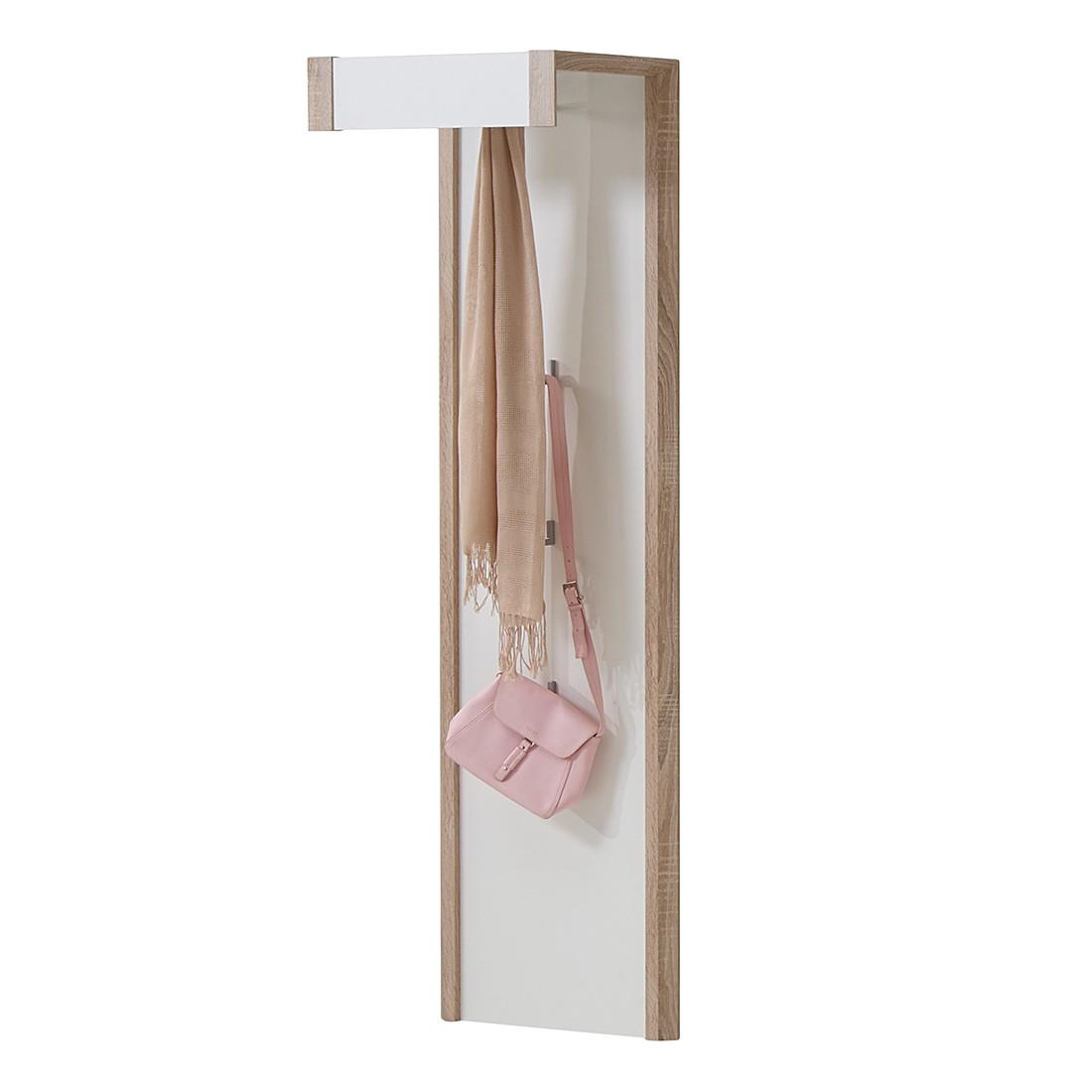 Garderobenpaneel Lenchen – Weiß – foliert/beschichtet, mooved günstig kaufen