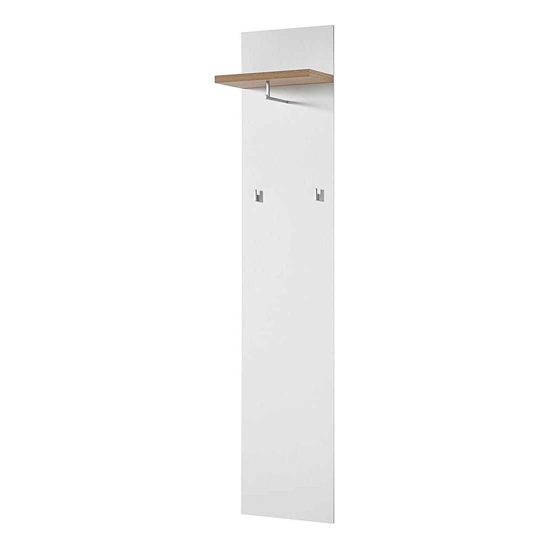 Garderobenpaneel Texture – Weiß/Sonoma-Eiche Dekor, Top Square online kaufen