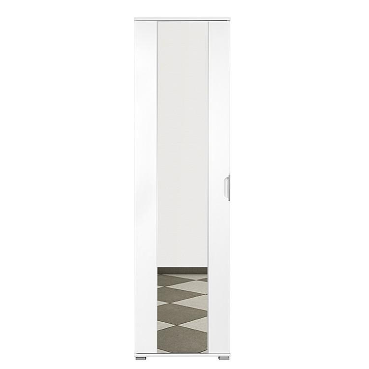 garderobenschrank 2 tone hochglanz wei. Black Bedroom Furniture Sets. Home Design Ideas
