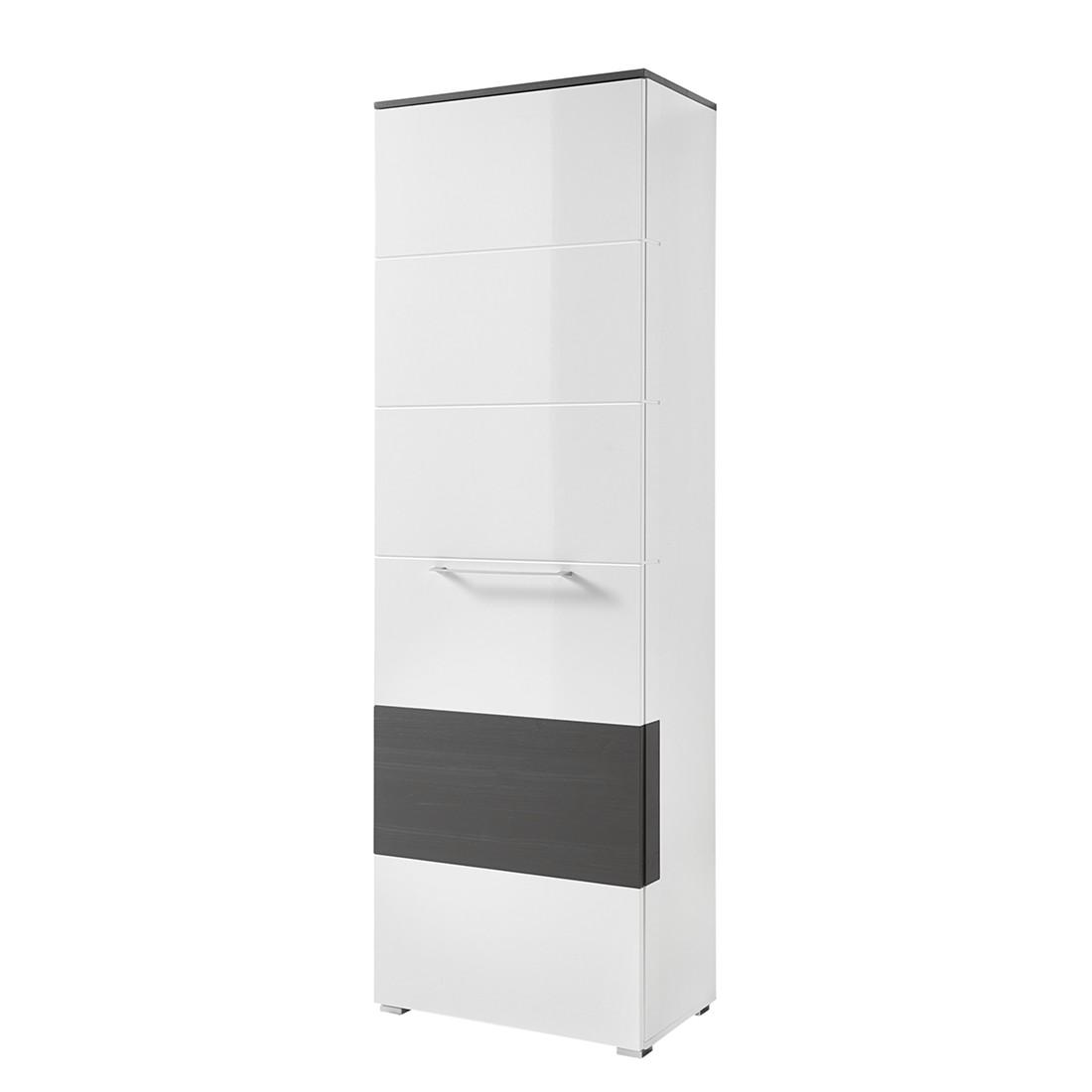 Garderobenschrank weiss hochglanz preisvergleiche for Garderobenschrank schwarz hochglanz