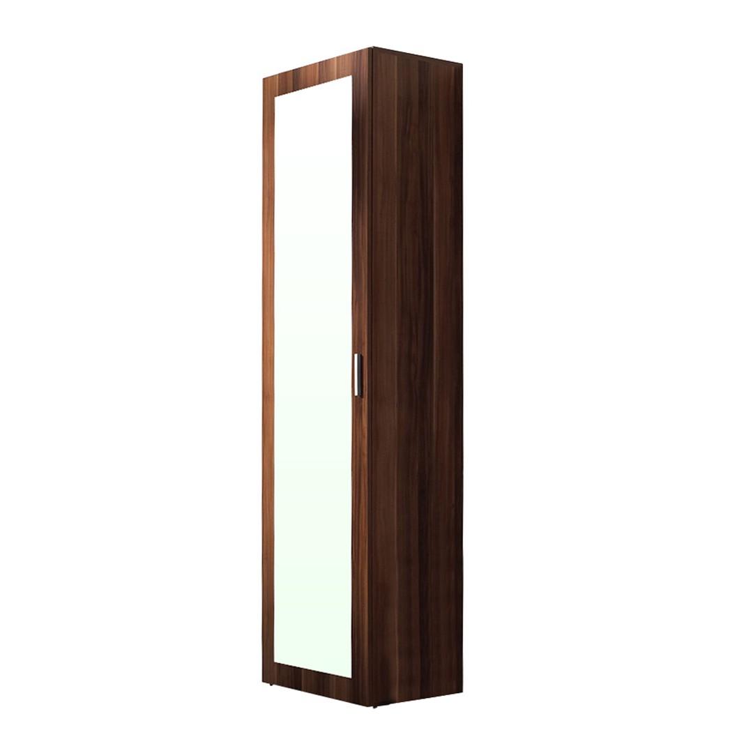 Garderobenschrank Torben - Nussbaum Dekor