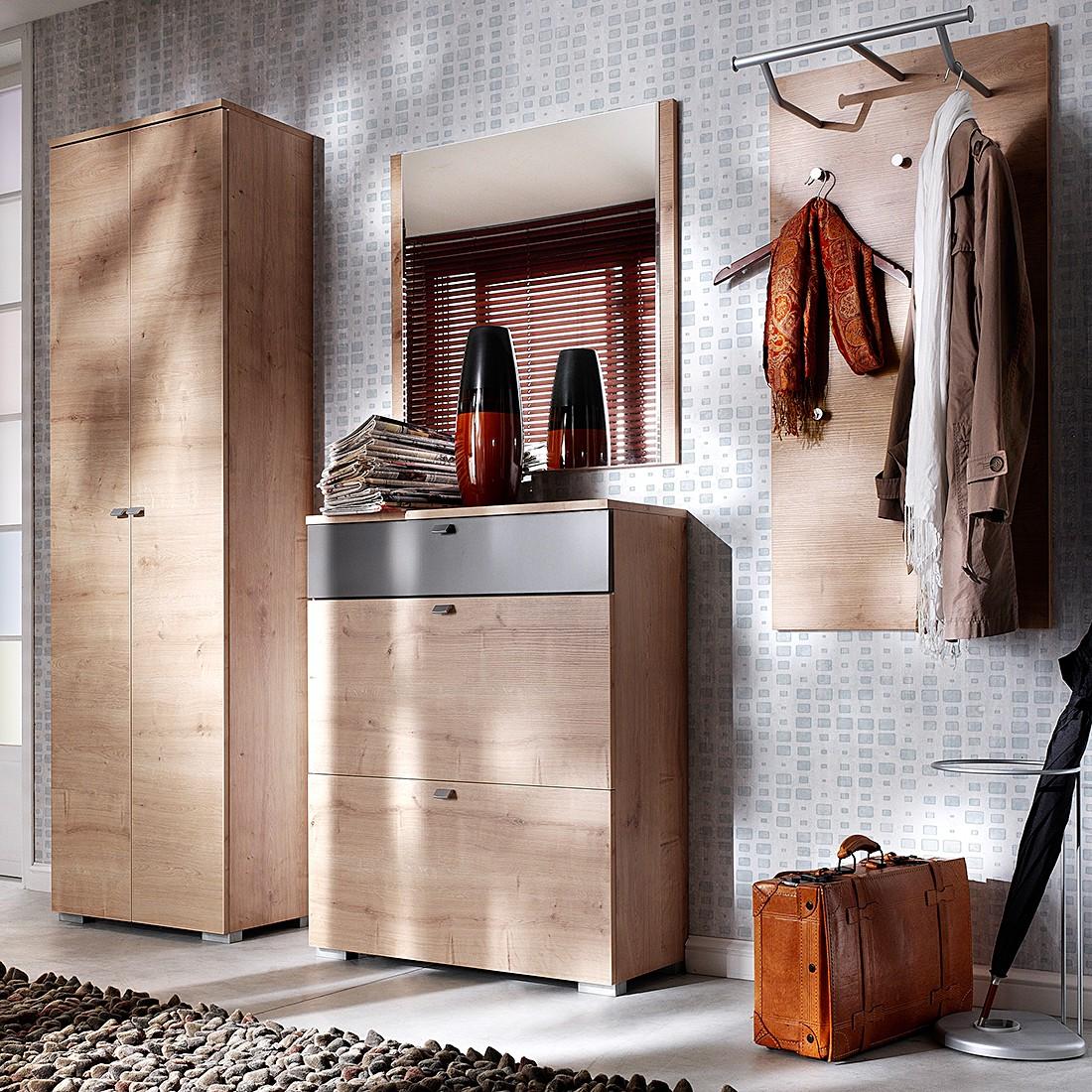 Garderobenset Buono III (4-teilig) – Wildeiche/Matt Lava, Wittenbreder bestellen