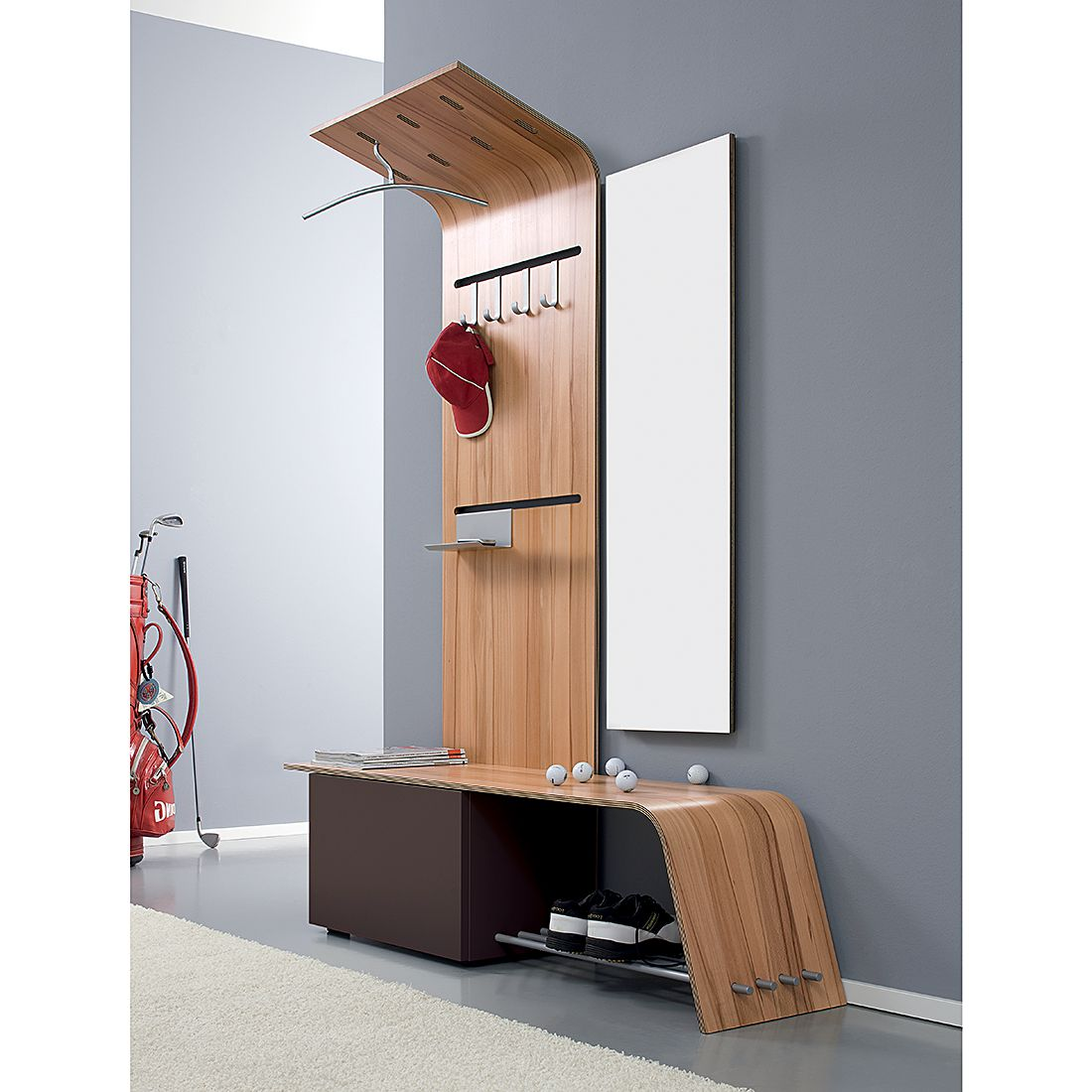 garderobe elli paneel ausrichtung links kernbuche. Black Bedroom Furniture Sets. Home Design Ideas
