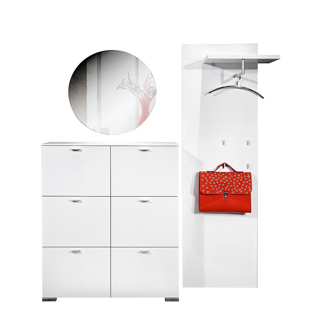 Garderobenset Gallery I – Weiß – 3-teilig, Arte M online kaufen