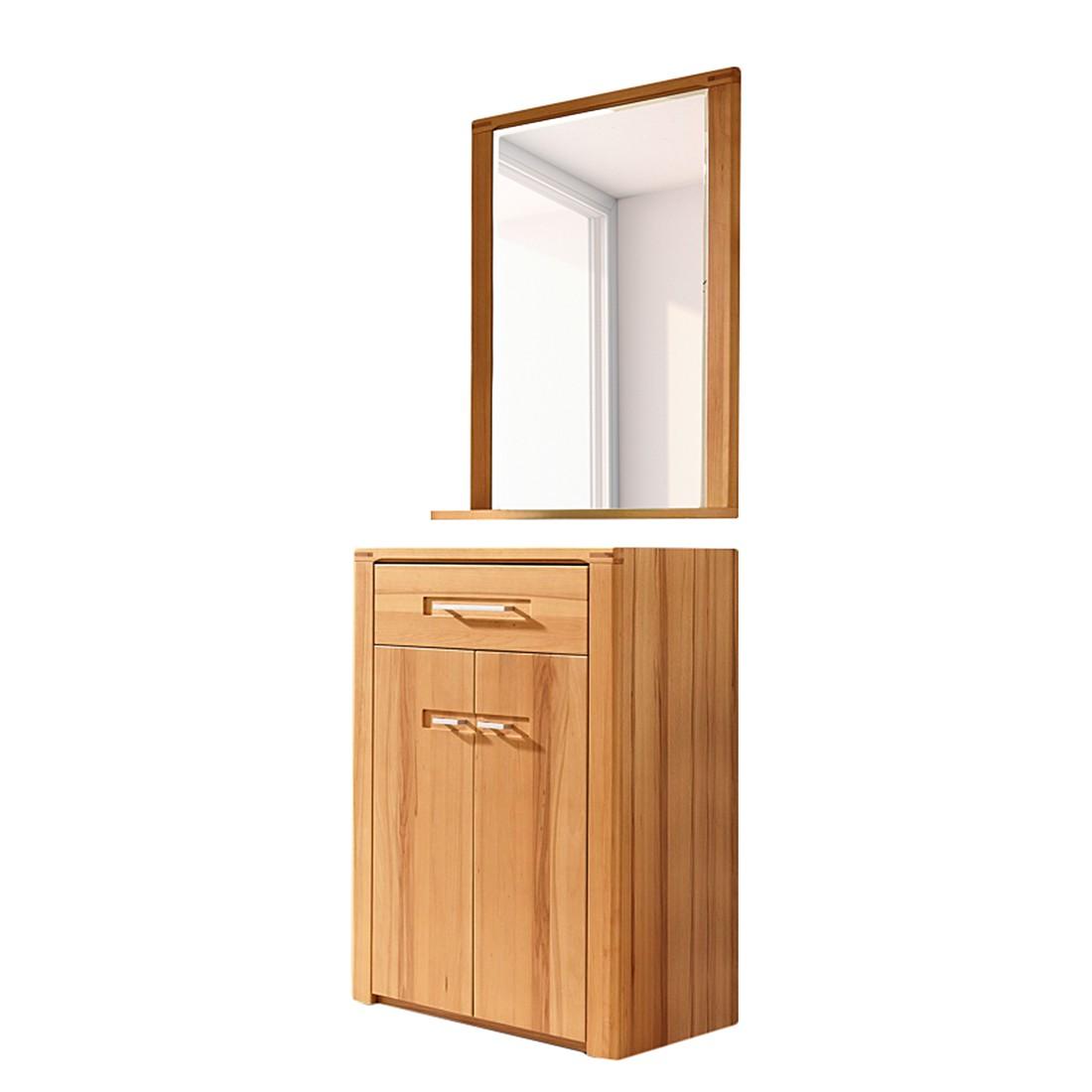 garderobenset naturestar 2 teilig kernbuche teilmassiv. Black Bedroom Furniture Sets. Home Design Ideas