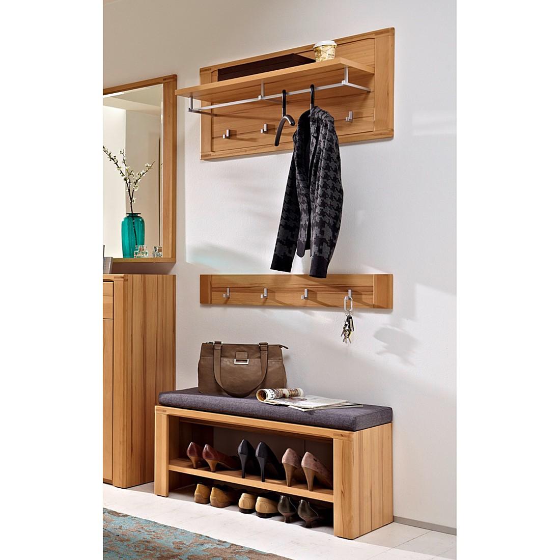 garderobenset naturestar 3 teilig kernbuche teilmassiv. Black Bedroom Furniture Sets. Home Design Ideas