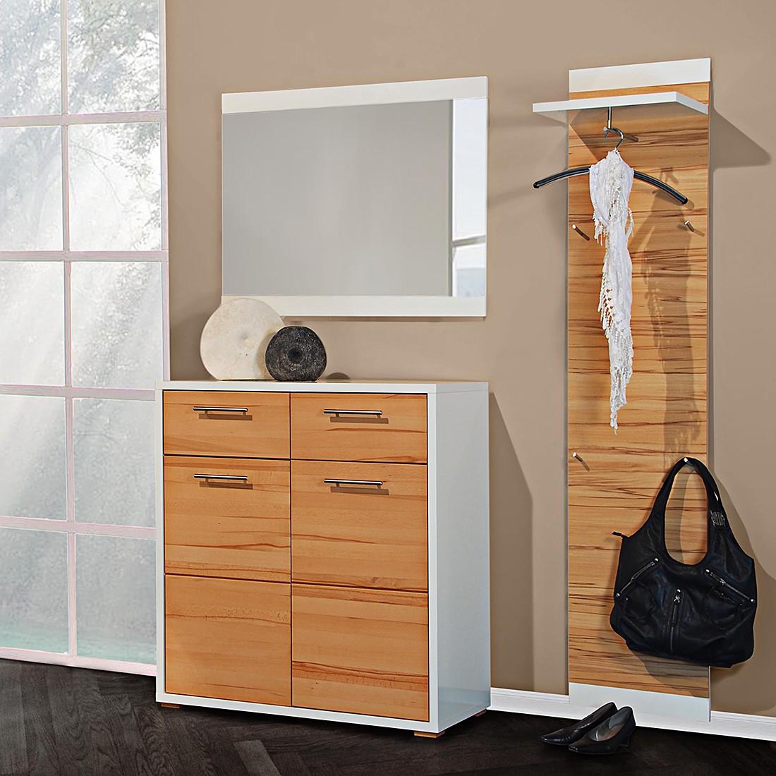garderobenset riva 1 kernbuche teilmassiv hochglanz wei jung s hne jetzt bestellen. Black Bedroom Furniture Sets. Home Design Ideas