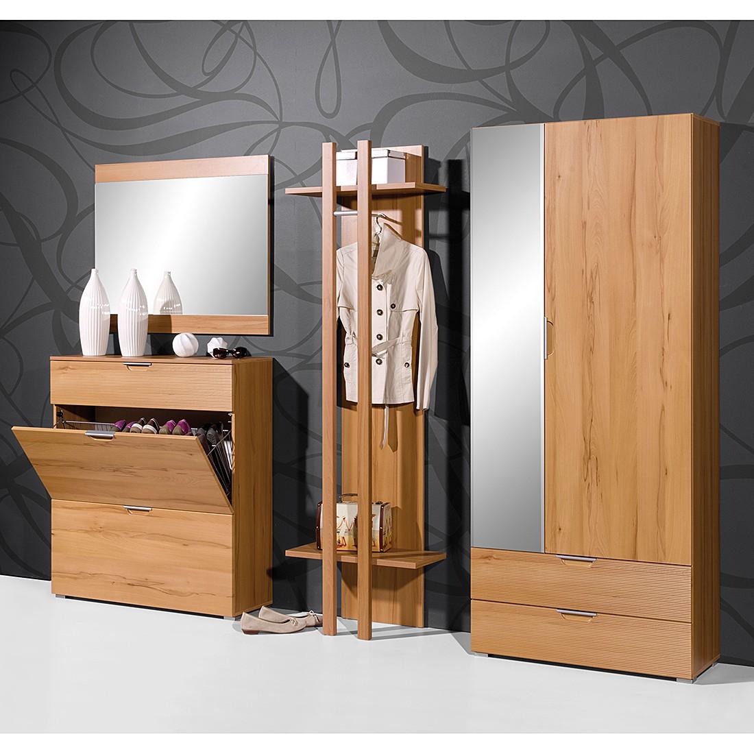 garderobenset touchwood kernbuche dekor. Black Bedroom Furniture Sets. Home Design Ideas