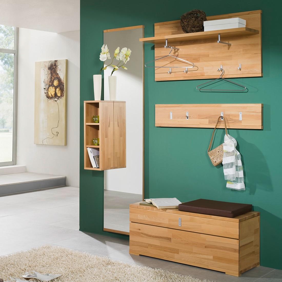 garderobenset vido ii 5 teilig kernbuche massiv jung s hne g nstig online kaufen. Black Bedroom Furniture Sets. Home Design Ideas