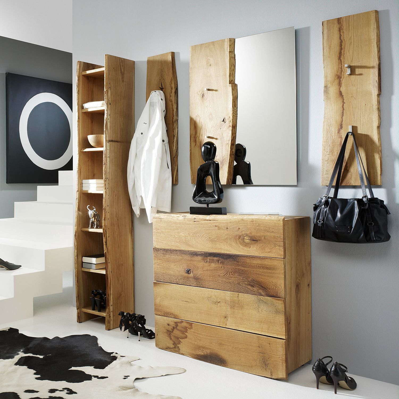 Garderobenset Woodkid (5-teilig) - Eiche massiv, Ars Natura