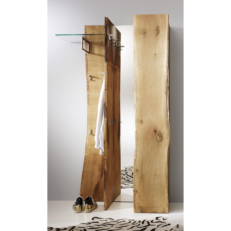 Garderobenset Woodkid III (3-teilig) - Eiche massiv, Ars Natura