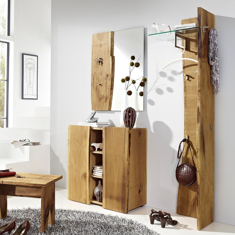 Garderobenset Woodkid IV (3-teilig) - Eiche massiv, Ars Natura