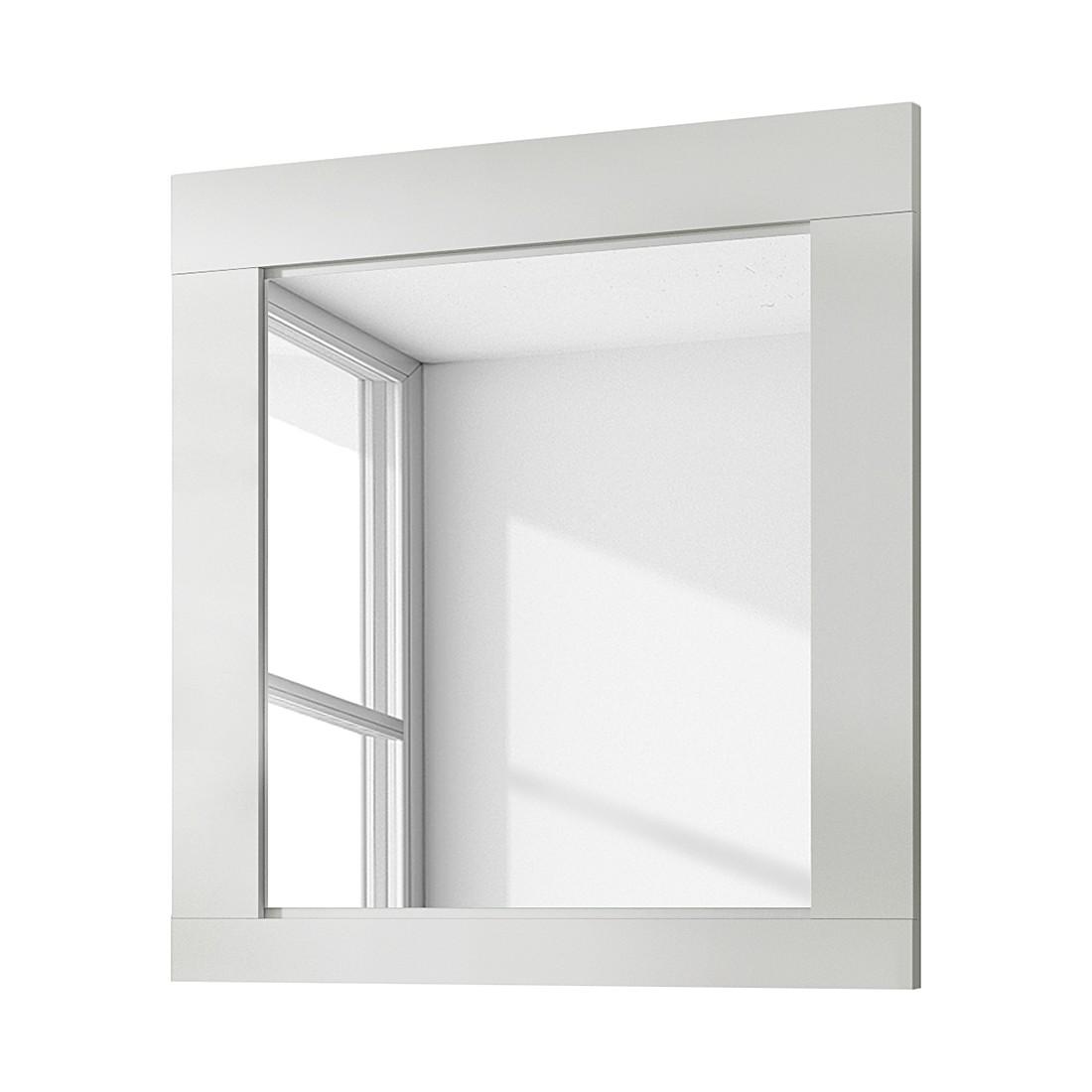 Garderobenspiegel Cast II – Weiß/White Kiefer Dekor, Modoform online bestellen