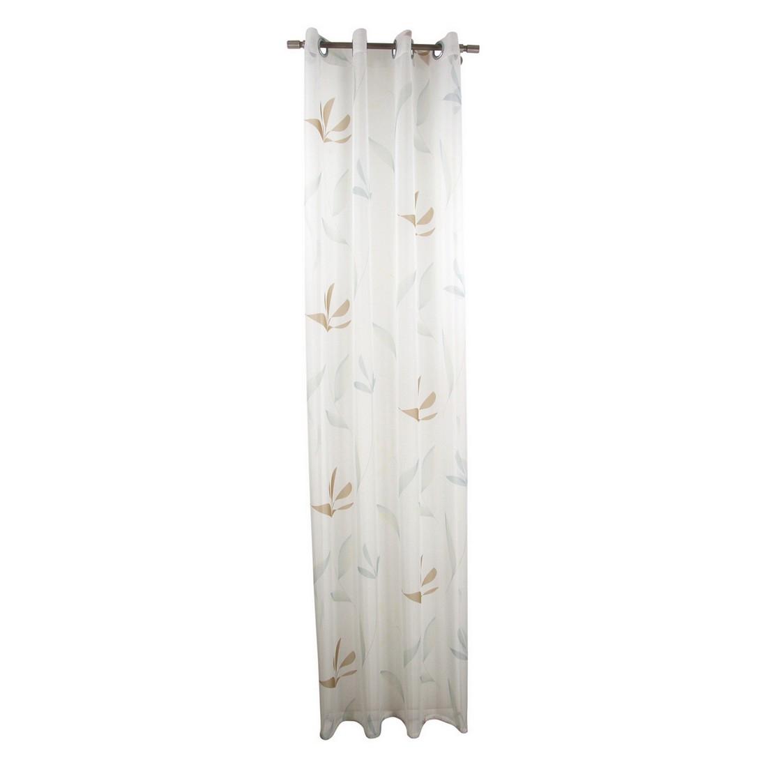 Gardine Moderne – Transparent – Türkis – Mit Ösen, MiBiento Living jetzt kaufen