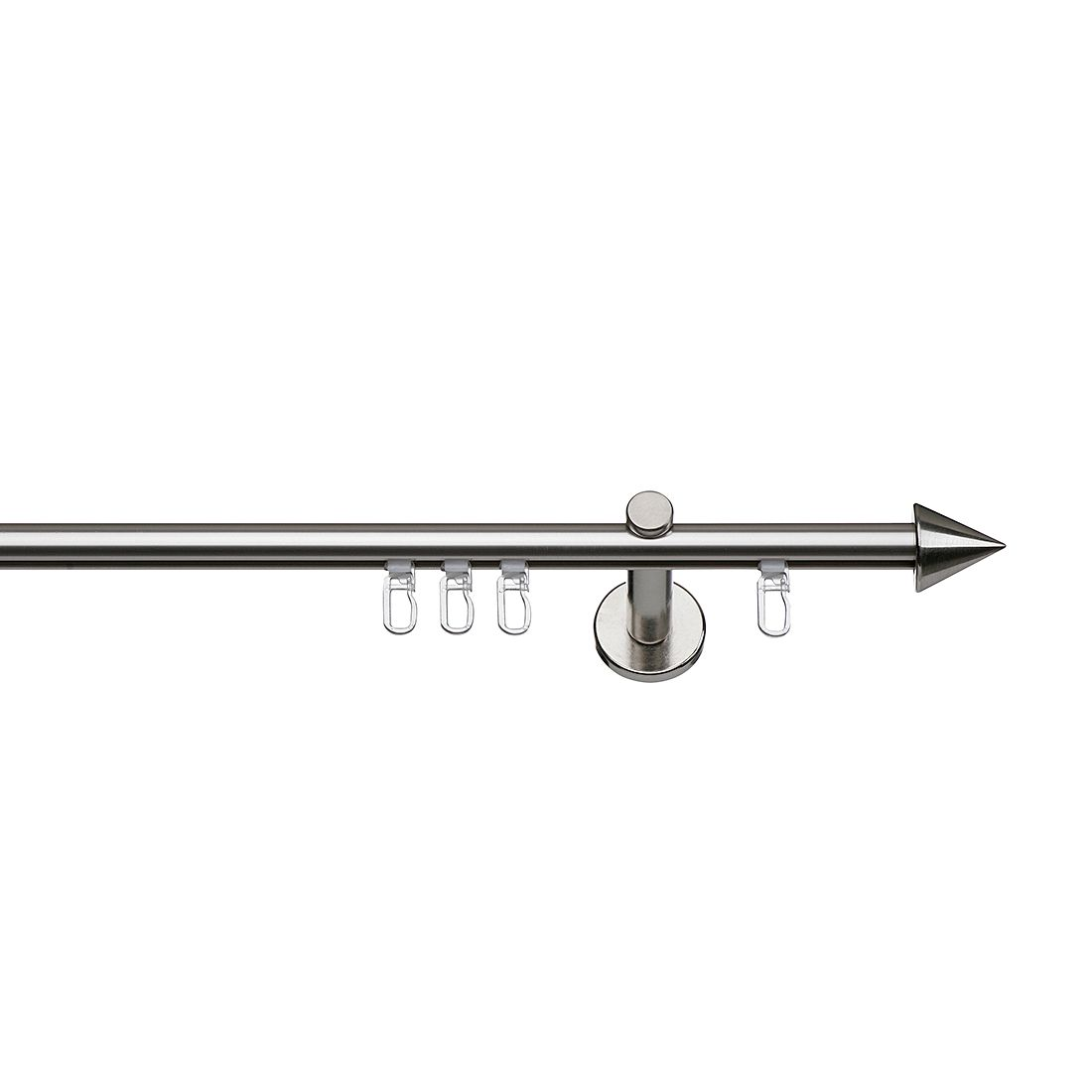 Gardinenstange Alice (1-läufig) – 240 cm, indeko günstig bestellen
