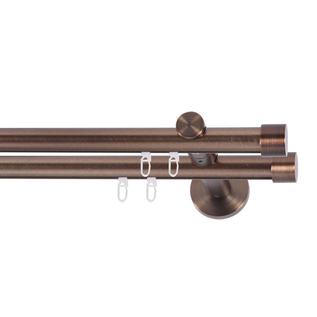 gardinenstange viola 2 lfg iii breite 120 cm indeko. Black Bedroom Furniture Sets. Home Design Ideas