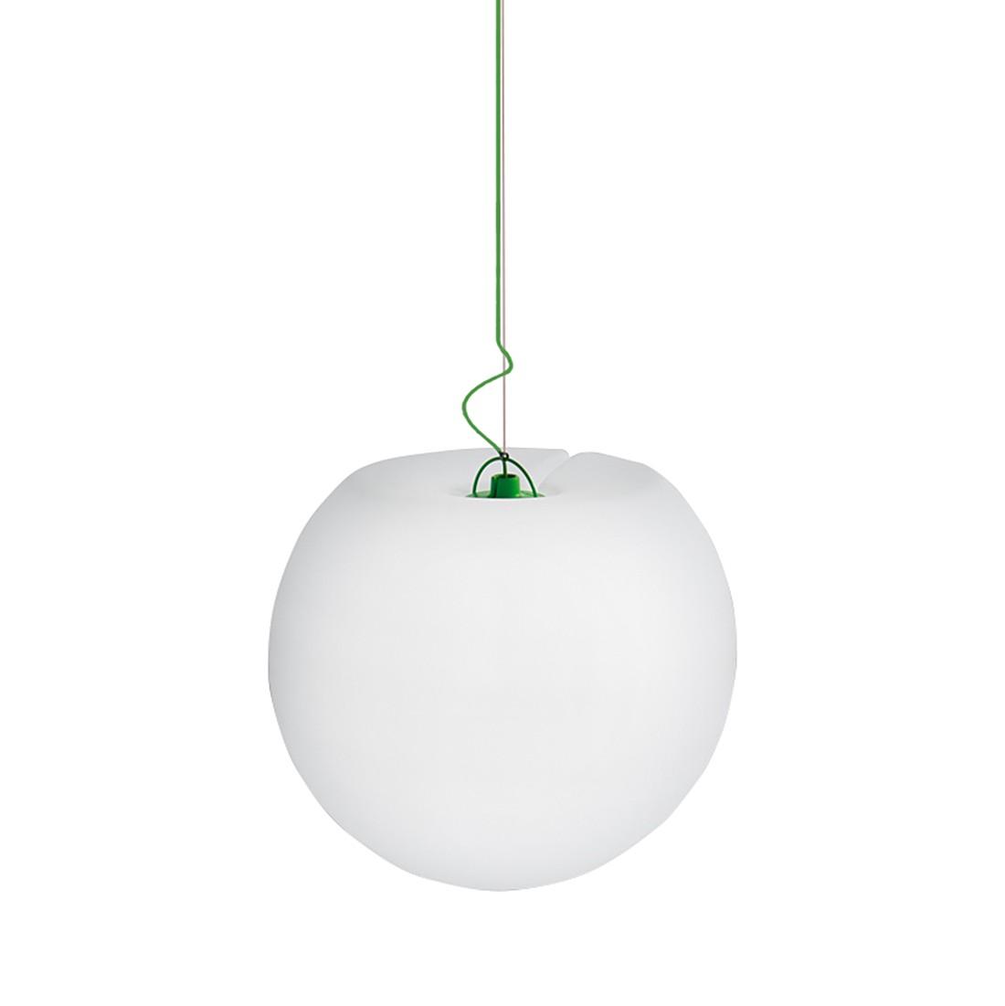 EEK A++, Gartenleuchte Happy Apple I – Kunststoff Weiß, Jan Kurtz günstig online kaufen
