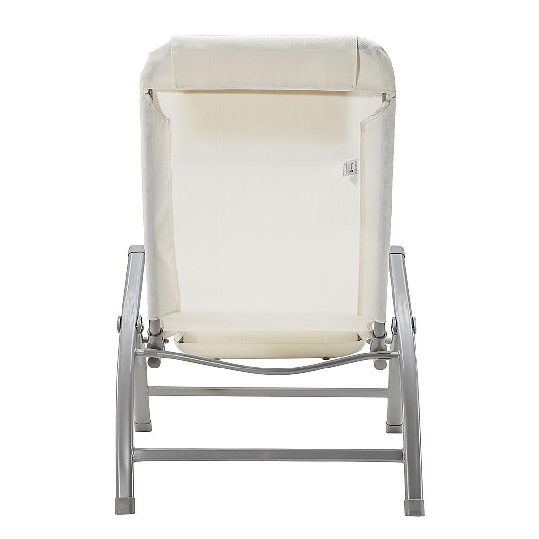kippliege summer sun wei gartenliege saunaliege sonnenliege ebay. Black Bedroom Furniture Sets. Home Design Ideas