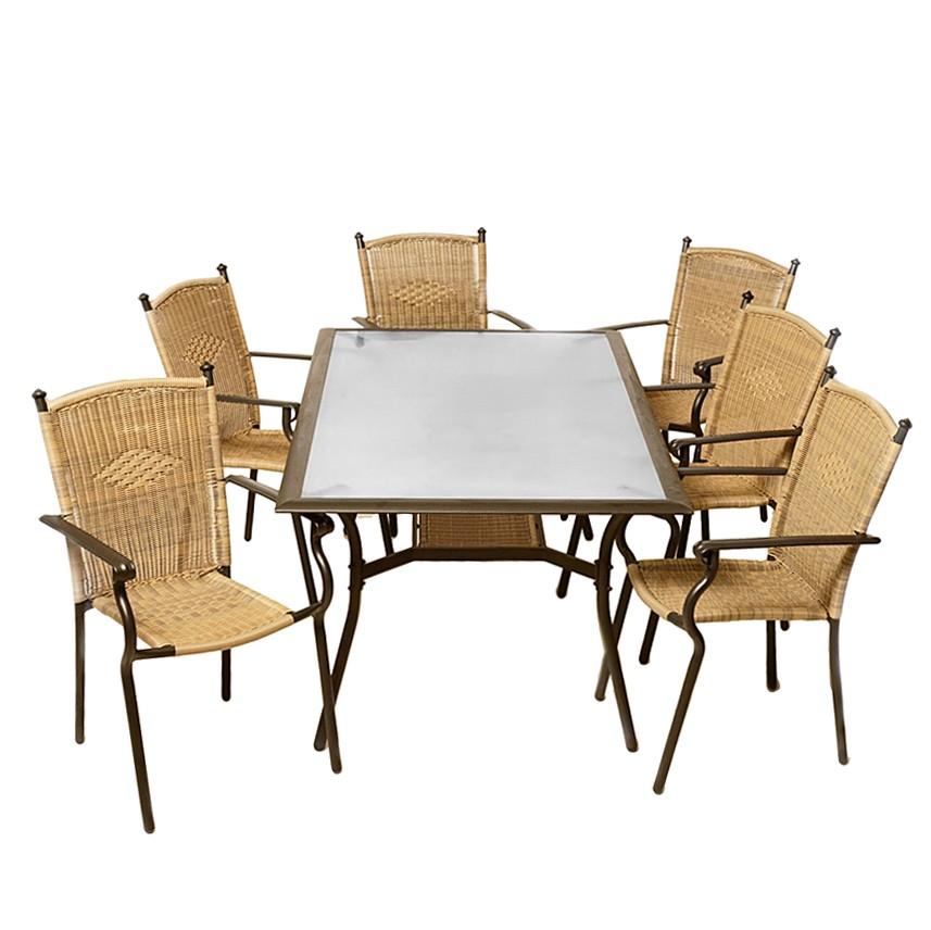 Emejing Gartenmobel Set Alu 7 Teilig Contemporary - New Home ...