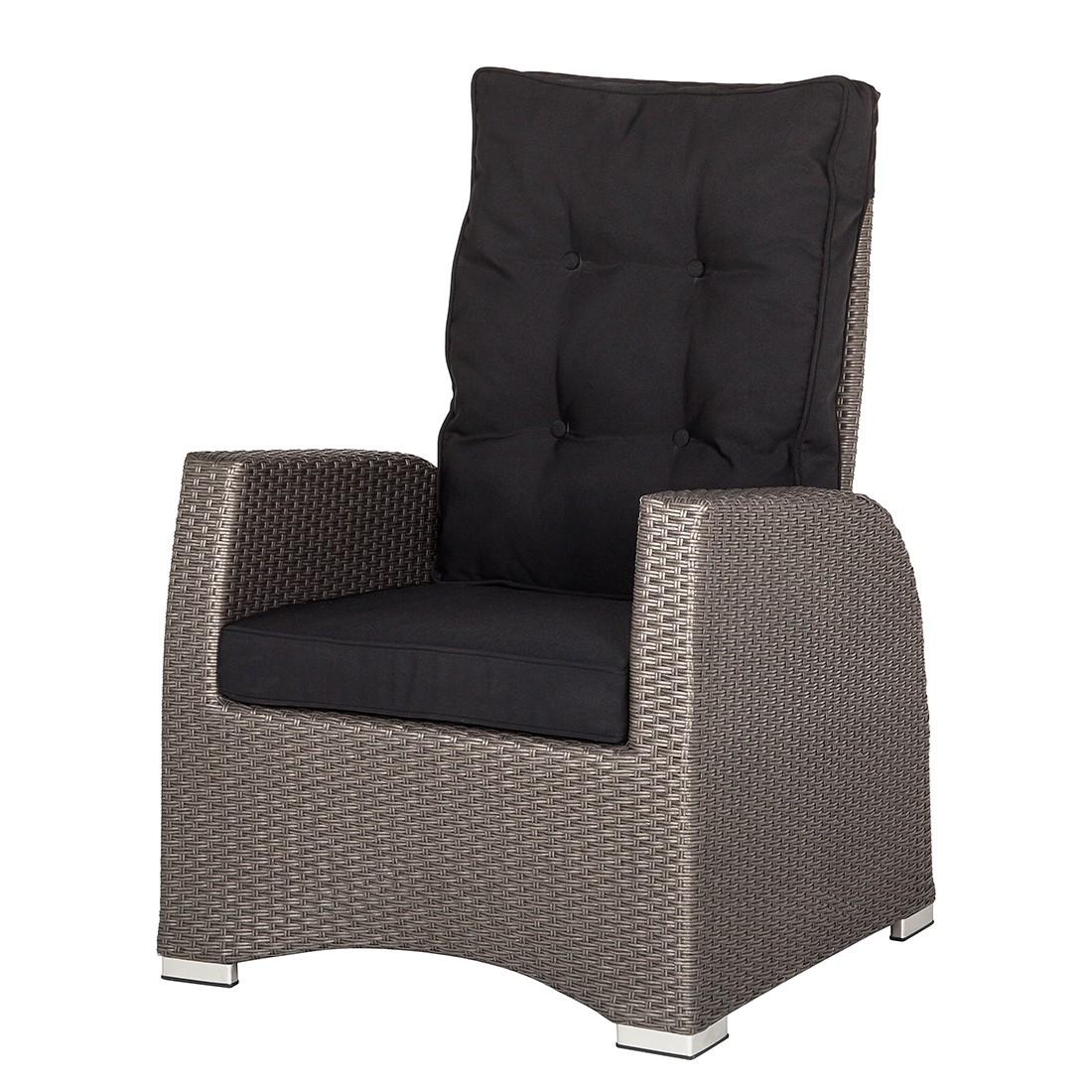 sessel polyrattan grau g nstig kaufen. Black Bedroom Furniture Sets. Home Design Ideas