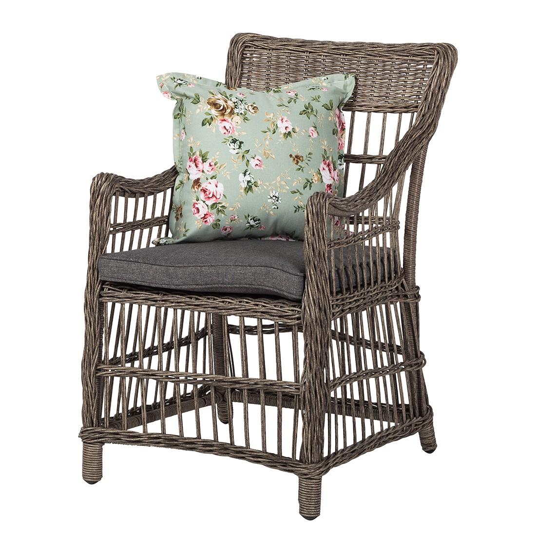gartensessel rose bay polyrattan braun ebay. Black Bedroom Furniture Sets. Home Design Ideas