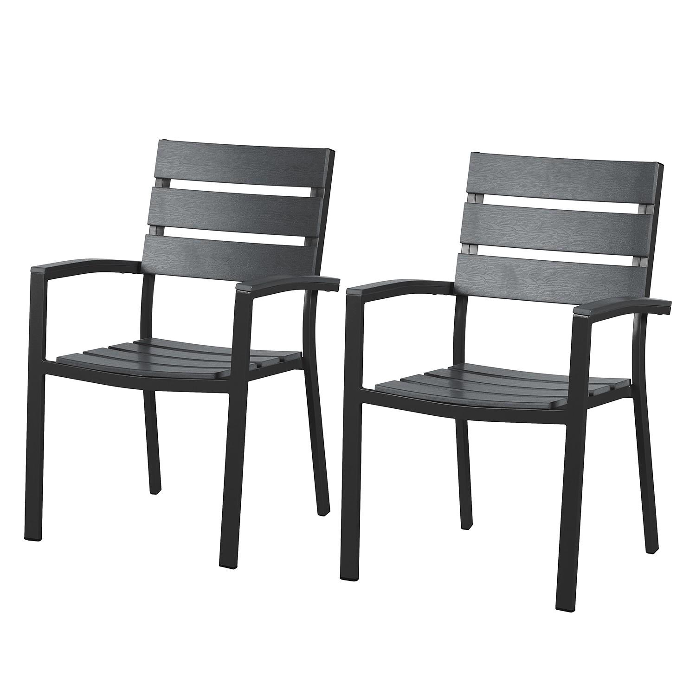 Gartenstuhl Montego (2er Set)   Aluminium / Polywood   Anthrazit / Schwarz,  Kings Gardenu20ac 149,99Anbieter: Home24.atVersand: Kostenlos