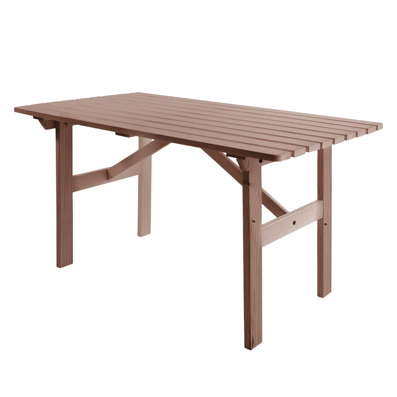 Gartentisch Hanko - Kiefer massiv - Braun, Gardenho.me