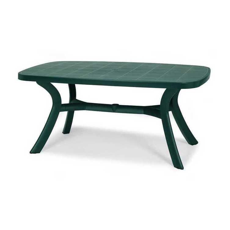 Gartentisch Kansas - Kunststoff - Grün, Best Freizeitmöbel