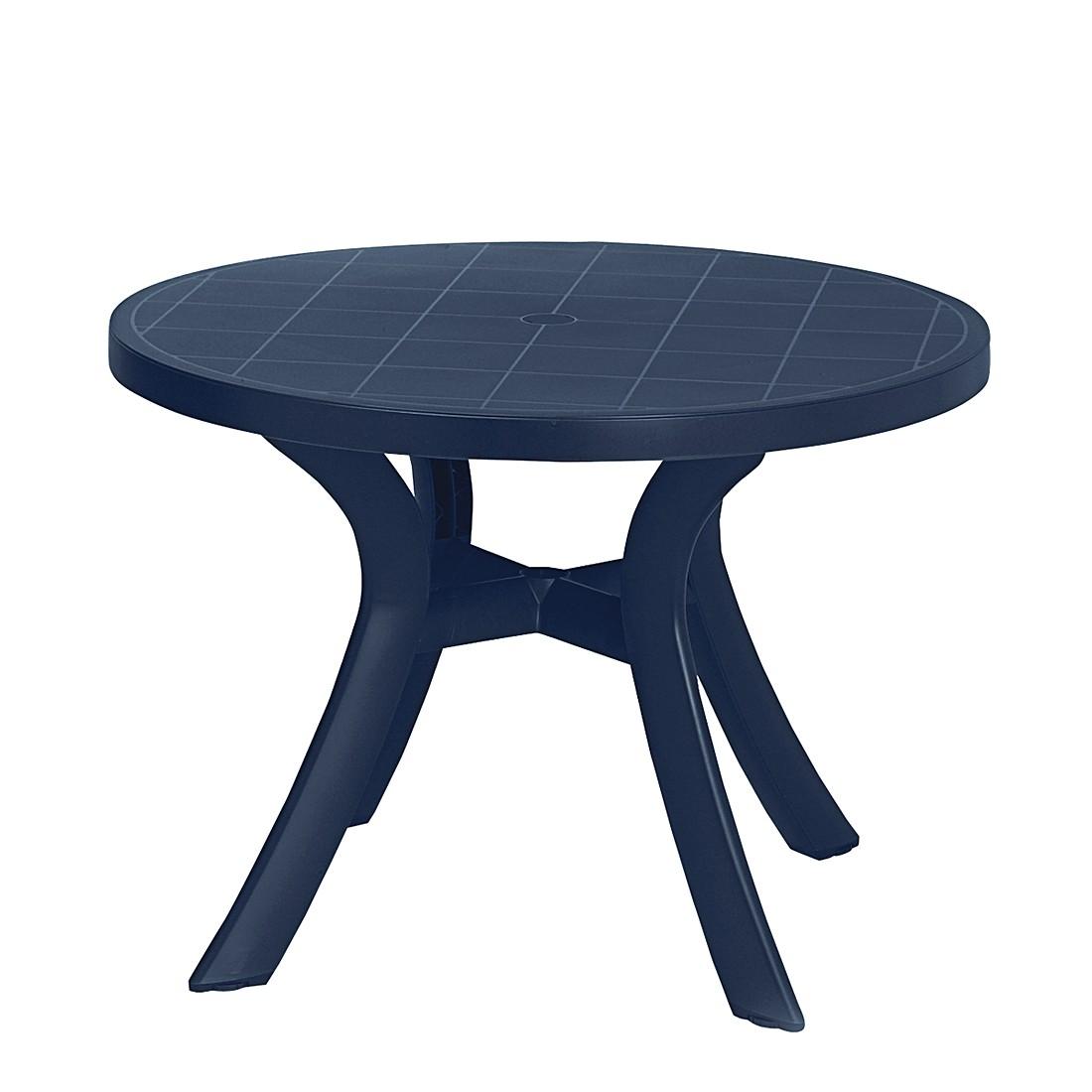 Gartentisch Kansas – Kunststoff – Blau, Best Freizeitmöbel jetzt bestellen