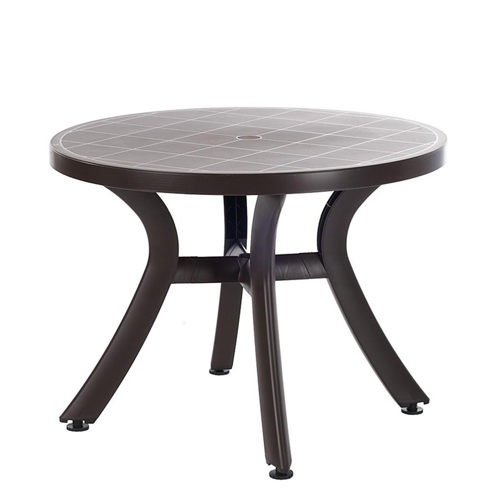 gartentisch rund 100 cm preisvergleiche erfahrungsberichte und kauf bei nextag. Black Bedroom Furniture Sets. Home Design Ideas