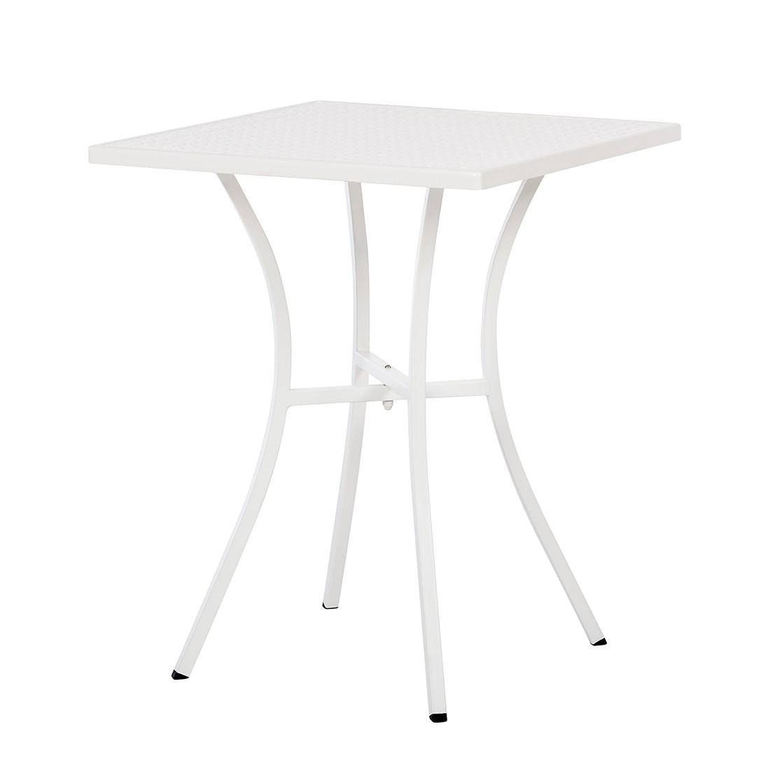 Gartentisch Pini - Metall Weiß, Garden Guerilla