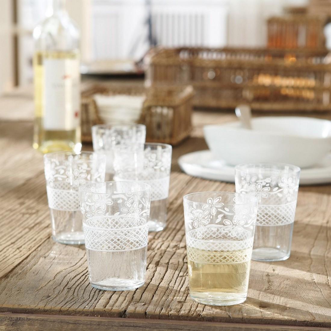Gläser 6er Set Hayward – Glas klar, Loberon jetzt bestellen