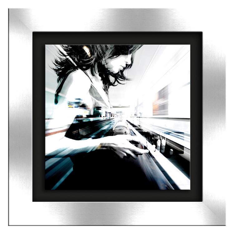 Glasbild Art Of Fashion I – Glas – Schwarz, ars graphica online bestellen