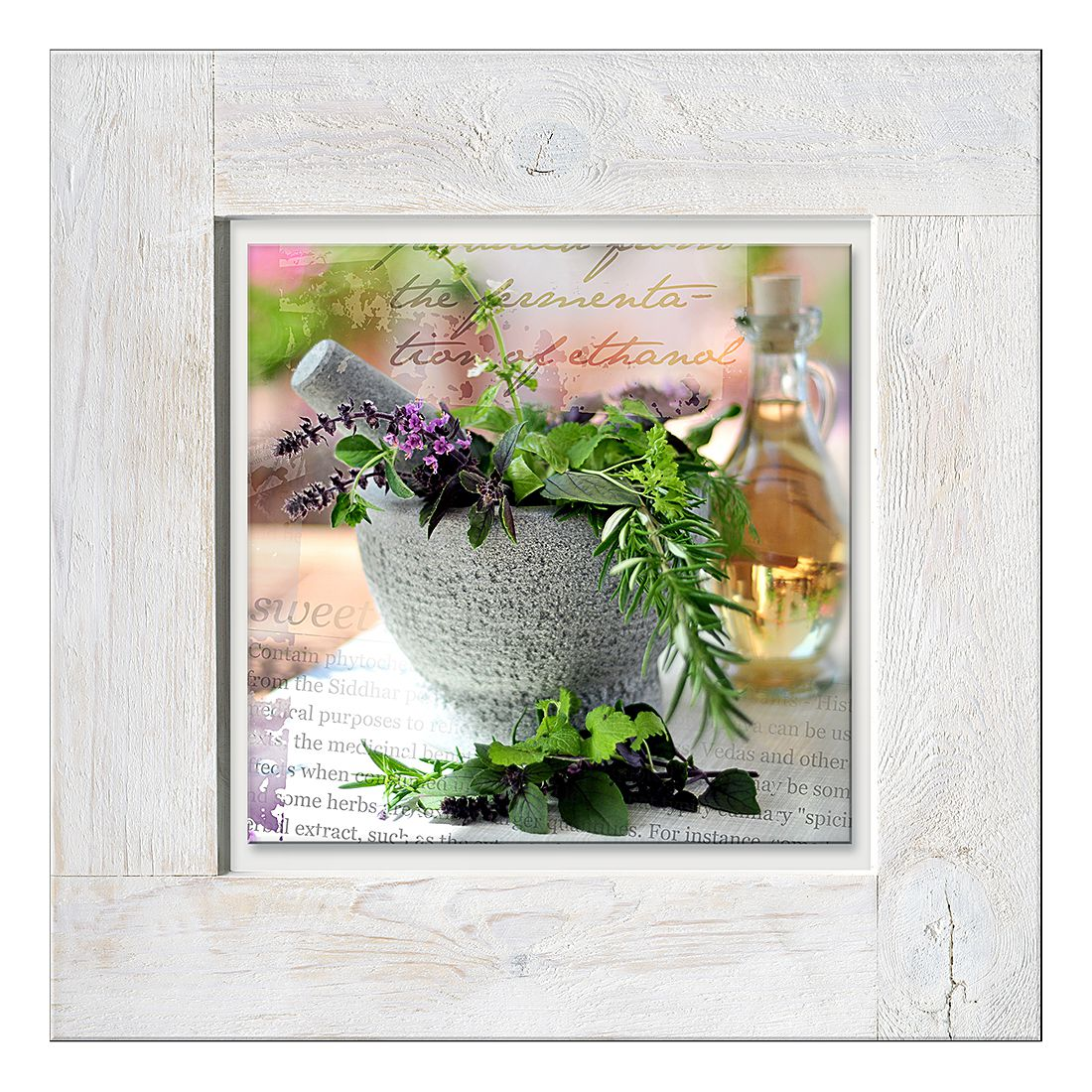 Glasbild Herbage pestle I, Pro Art kaufen