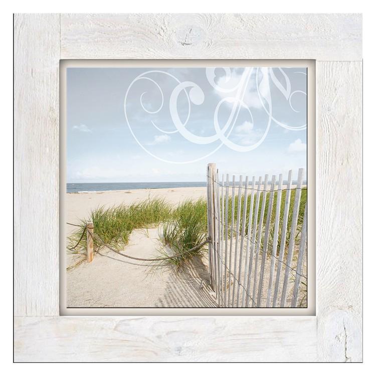 Glasbild Strandtag II – Glas – Beige, ars graphica jetzt kaufen
