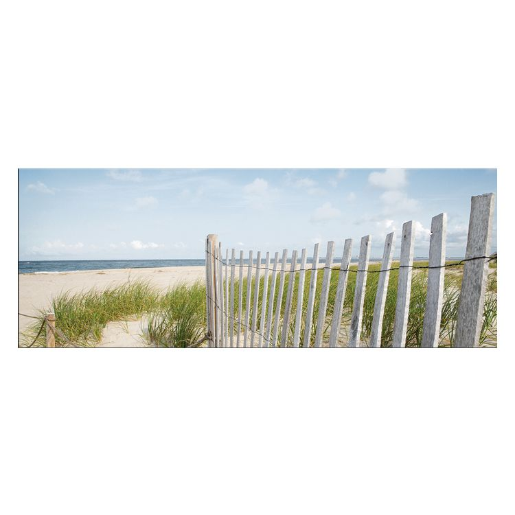 Glasbild Tag Am Meer – Glas – Weiß, ars graphica günstig kaufen