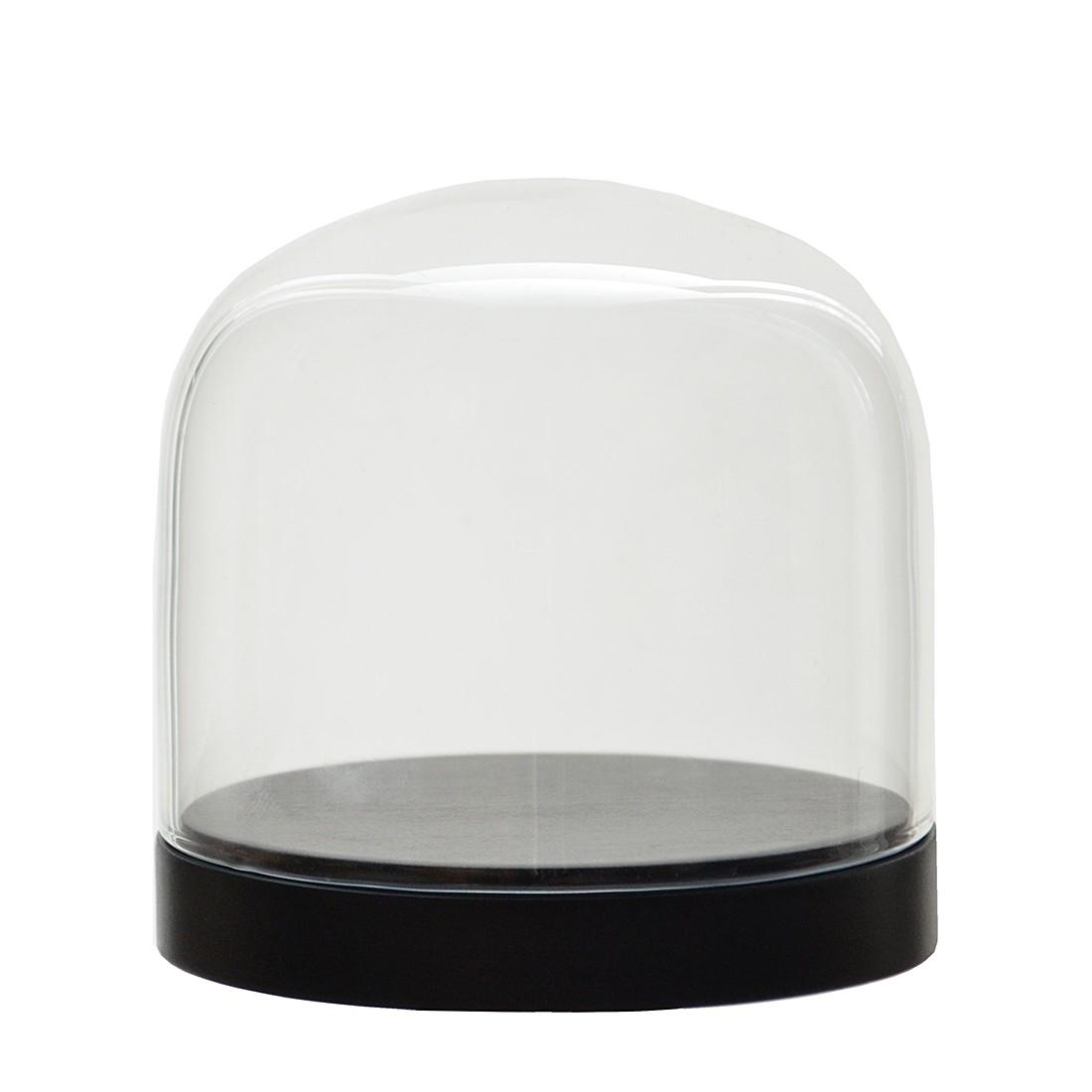 Glasglocke Pleasure Dome I – Buche massiv – Schwarz, Wireworks günstig online kaufen